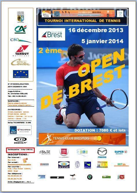 Open de Brest 2014
